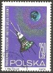 Stamps Poland -  ELEKTRON  2  EXPLORANDO  EL  CINTURON  DE  RADIACIÒN