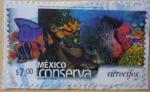 Sellos del Mundo : America : México :  México conserva - arrecifes (repetido)