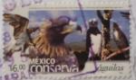 Sellos del Mundo : America : México :  México conserva - águilas