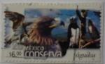 Sellos de America - México -  México conserva - águilas (repetido)