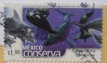 Sellos de America - México -  México conserva - mamíferos marinos