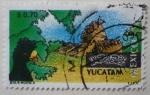 Stamps : America : Mexico :  México turístico - Yucatán (3)