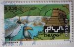 Sellos de America - México -  México turístico - Chiapas (2)