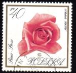 Sellos del Mundo : Europa : Polonia : Flores en Colores Naturales