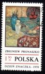 Sellos del Mundo : Europa : Polonia : Estilo de Vida, por ZBIGNIEW PRONASZKO