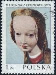 Sellos del Mundo : Europa : Polonia : 2082 - La Virgen, en madera, del escultor Krulowa