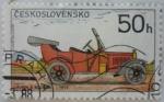 Sellos del Mundo : Europa : Checoslovaquia :  Automóvil Laurin & Klement - 1914