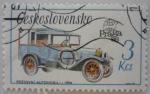 Sellos del Mundo : Europa : Checoslovaquia :  Automóvil Postovni - 1924