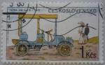 Sellos del Mundo : Europa : Checoslovaquia :  Automóvil Tatra NW typ B - 1902