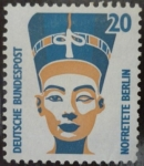 Sellos de Europa - Alemania -  Nefertiti (Berlín)