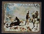 Sellos del Mundo : America : Panamá : Courbet 1819