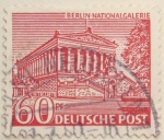 Stamps : Europe : Germany :  Berlin-nationalgalerie
