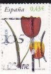 Stamps Spain -  Flora-Tulipan  (3)