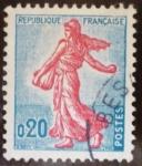 Sellos del Mundo : Europa : Francia : Sembradora