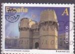 Sellos de Europa - España -  Puerta de Serranos- Valencia  (3)