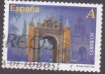 Sellos de Europa - Espa�a -  Puerta de la Macarena -Sevilla  (3)
