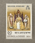 Stamps Asia - Bangladesh -  Jubileo de plata