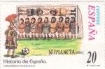 Stamps Spain -  Historia de España- Numancia   (3)