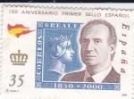 Sellos de Europa - España -  150 Aniversario Primer sello español  (3)