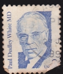 Stamps United States -  Paul Dudley White MD