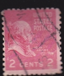 Stamps United States -  Jhon Adams