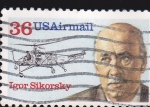 Stamps United States -  Igor Sikorsky
