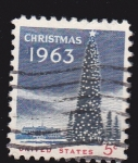 Stamps United States -  CHRISTMAS