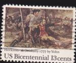 Sellos de America - Estados Unidos -  Batalla de Oriskany 1777
