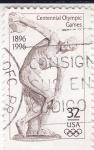 Sellos de America - Estados Unidos -  Centenario Juegos Olímpicos 1896-1996