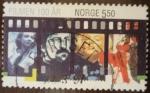Sellos del Mundo : Europa : Noruega :  cine