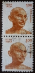 Sellos del Mundo : Asia : India : Gandhi