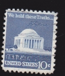 Stamps : America : United_States :  Monumento a Jefferson