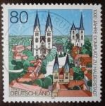 Sellos de Europa - Alemania -  100 años Domplatz Zu Halberstadt