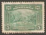 Stamps Honduras -  BATALLA  DE  LA  TRINIDAD