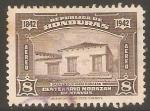 Stamps Honduras -  CASA  DONDE  NACIÒ  EL  GENERAL  FRANCISCO  MORAZÀN