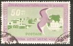 Sellos de Asia - Tailandia -  SEMANA  INTERNACIONAL  DE  LA  CARTA