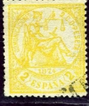 Stamps Spain -  Alegoría de la Justica