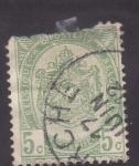 Stamps Belgium -  Escudo y cifra