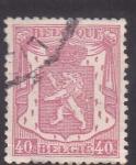 Stamps Belgium -  Escudo y león Rampante