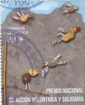 Stamps Mexico -  Premio nacional de acción voluntaria y solidaria