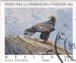 Sellos de America - México -  Unidos para la Conservación-Fundación Ara- Aguila Real