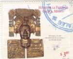 Sellos de America - México -  Pectoral de oro de Monte Albán