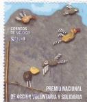 Sellos de America - México -  Premio nacional de acción voluntaria y solidaria