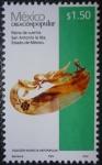 Sellos de America - México -  Creación popular - Peine de cuerno