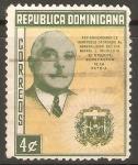 Sellos de America - Rep Dominicana -  PRESIDENTE   RAFAEL   LEONIDAS   TRUJILLO   MOLINA