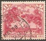 Stamps Pakistan -  MEZQUITA   DE   BADSHAHL.   LAHORE.