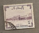 Stamps Asia - Pakistan -  Molino de Jute