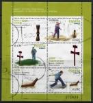 Stamps Spain -  ESPAÑA 2008_4435.03 JUEGOS Y DEPORTES TRADICIONALES