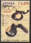 Sellos de Europa - España -  ESPAÑA 2013 INSTRUMENTOS MUSICALES. CASTAÑUELAS.03 0,55 US$