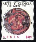 Sellos del Mundo : America : México : Arte y Ciencia de Mexico
